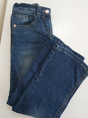 Marks and Spencer Girls Jeans - Age 6-7 - excellent condition