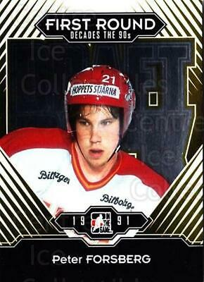 2013-14 ITG Decades 1990s Gold #178 Peter Forsberg
