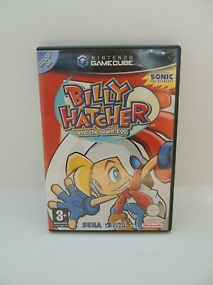 Jeux Nintendo Game cube - Billy Hatcher and the giant egg