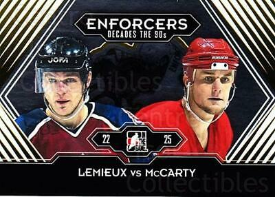 2013-14 ITG Decades 1990s Gold #186 Claude Lemieux, Darren McCarty
