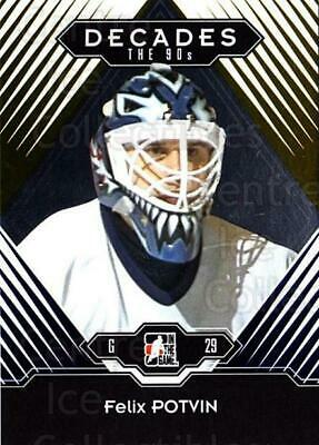 2013-14 ITG Decades 1990s Gold #56 Felix Potvin