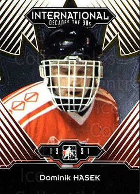 2013-14 ITG Decades 1990s Gold #7 Dominik Hasek