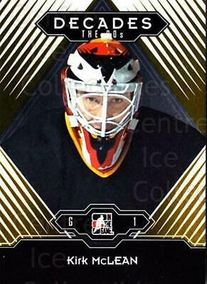 2013-14 ITG Decades 1990s Gold #89 Kirk McLean