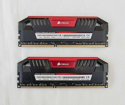 Corsair Vengeance Pro Red 16GB (2x8GB) DDR3 PC3-17100C11 2133MHz Dual Channel Me