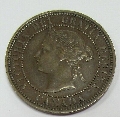 1888 Canada Large Cent * Old Canadian Penny KM #7