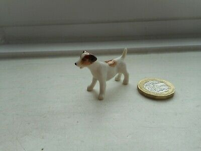 Jack Russell Terrier - Miniature Ceramic/Pottery - Lovely Standing Dog -New Size