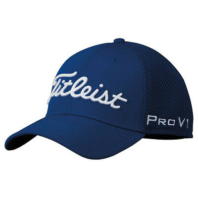 Titleist Sports Mesh Fitted Cap - Royal/White Size Medium/Large NEW!