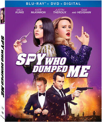 The Spy Who Dumped Me Blu Ray/DVD No Digital Includes Slipcover