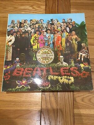 Beatles Sergeant Peppers Lonely Hearts Club Band Vinyl 1967.Pmc7027