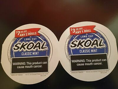 Skoal Coupons  Save $10.00  Exp 5-31-20
