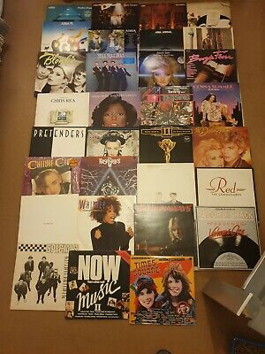 "Job Lot Of 31 1970's/1980's LPs/12"" Vinyls *COLLECTION ONLY CH6 / NO POSTAGE*"