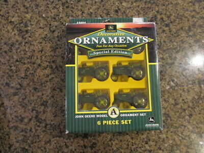 John Deere A Tractor 6 Piece set Ornaments Special Edition  #3004 CTH Sales NEW