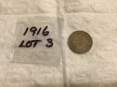 1916 Canada, Large Cent, George V  Lot 3
