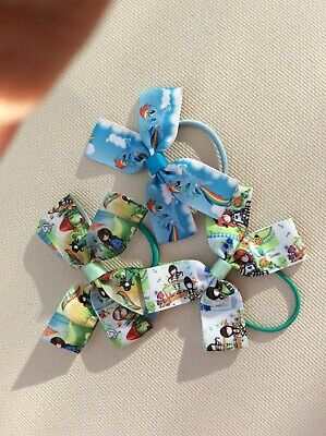 hair bows HANDMADE girls hair accessories bobbles