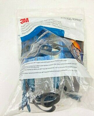 3M™ Rugged Comfort Quick Latch Half Facepiece Reusable Respirator 6503QL/49492