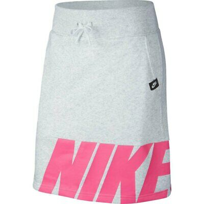 Girls Nike Air Skirt - M - 10-12 years - Grey/Pink RRP: £32