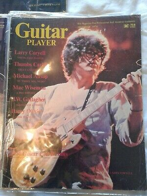 Guitar Player Magazine December 1974  Larry Coryell Thumbs Carllile- lessons etc