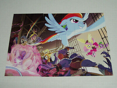 My Little Pony The Movie 9 Card Puzzle Set