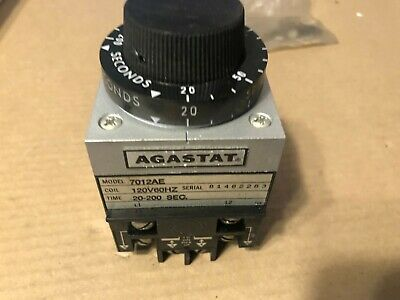 AGASTAT, Timing Relay, 7012AE