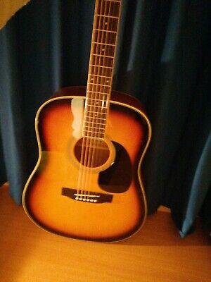 Stretton payne Acoustic guitar, sunburst, Dreadnought full size steel string