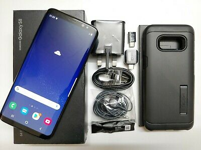 Samsung Galaxy S8 SM-G950F - 64GB - Midnight Black (Unlocked) Smartphone *Mint*