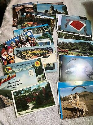 LOT OF 100+ VINTAGE POSTCARDS , PREMIUM CARDS Never Used