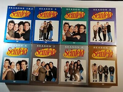 Seinfeld TV Show,The Complete Series DVDs, Seasons 1-9