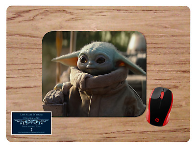 Baby Yoda #4 Mousepad Mouse Pad Home Office Gift Star Wars The Mandalorian