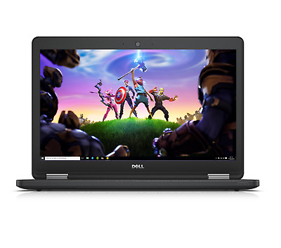 "Dell Latitude Gaming Laptop 🎮 15.6"" HD LED Intel Core i5 16GB RAM 256 SSD HDMI"