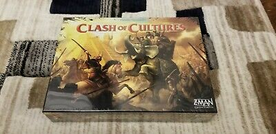 CLASH OF CULTURES(English) Civilization Expansion(French Edition) Sealed/New