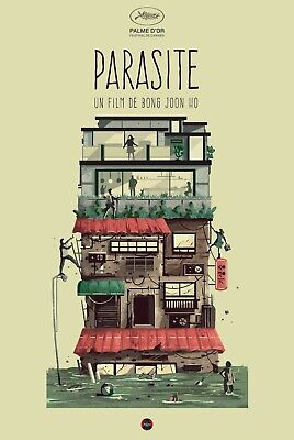"Parasite movie poster (c) - 11"" x 17"" inches - Bong Joon Ho"