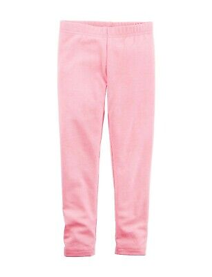 Carter's Girls Size 8 Solid Light Pink Leggings Full Length NEW MSRP $16