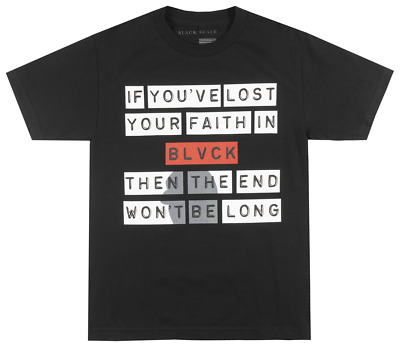 Black Scale Wont Be Long T-Shirt Mens Blvck Scvle Streetwear Occult Tee