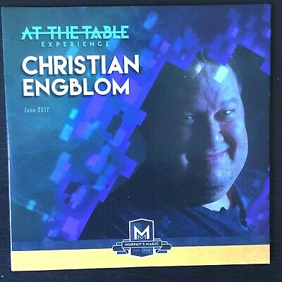 At The Table Live Lecture Christian Engblom: 3 Card Monte, Oil and Water, Magic!