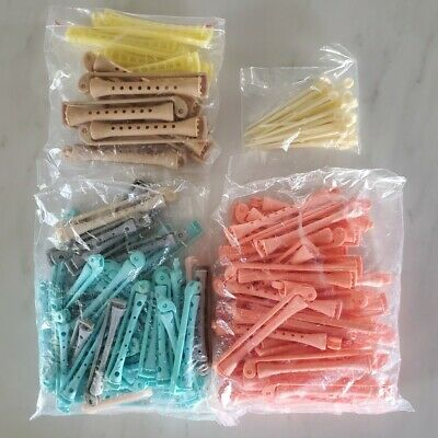 Lot of Vintage Perm Rods Plastic Swing Arm Various Sizes