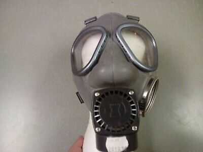 Finnish Military Gas Mask Respirator NOKIA  Amp, 60mm-40mm NATO Adapter & Filter