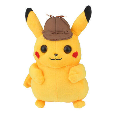 Pikachu Detective Movie Stuffed Toys Doll Soft Stuffed Plush Kids Gift