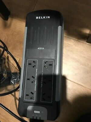 Belkin 6-Port Power Surge Protector plus free coaxial cable