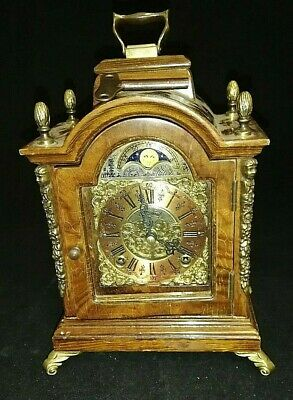 Dutch Warmink WUBA  Moon Dial Mantel Clock
