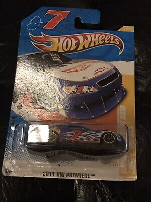 2011 Hot Wheels New Models #7 Danica Patrick 2010 Chevy Impala 37/50, Hw #37/244