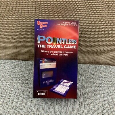 Pointless The Travel Game (unused) 2013