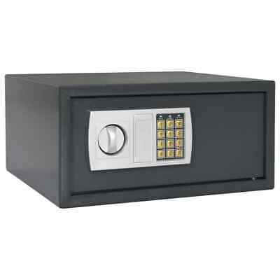 vidaXL Digital Safe Dark Grey 42x37x20cm Home Protection Security Safety Box~