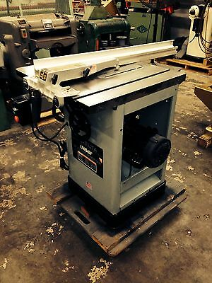 """Delta Uni-Saw 10"""" Tablesaw New bearing & belts in arbor"""