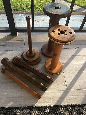 Vintage Wool Loom Pieces