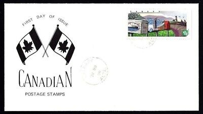 Canada   # 1849  Rural Mailboxes Special Event Cachet   New 2000 Unaddressed
