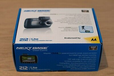 Nextbase 212 Lite 1080p High DefinitionCar Dash Cam - Unopened - Endorsed by AA