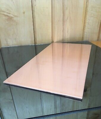 """1/8"""" COPPER SHEET PLATE NEW 10""""x20"""" .125 THICK *CUSTOM 1/8 SIZES AVAILABLE*"""