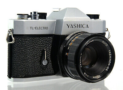 Yashica TL-Electro mit Yashinon-DS 50mm 1:1.9 defekt / defective - 34209