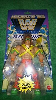 Masters Of The Universe Wwe Ultimate  Warrior Figure New Sealed