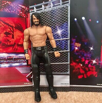 WWE Mattel action figure BASIC ARCHITECT SETH ROLLINS toy PLAY Wrestling Angry